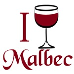 I Love Malbec T-shirts and Gifts