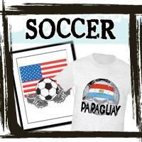 Soccer T-shirts and Soccer Merchandise, Gifts