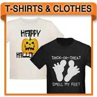 Halloween T-shirts, Sweatshirts, Apparel