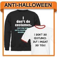 Anti-Halloween T-shirts & Sarcastic Halloween Tees