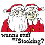 Naughty Santa T-shirts & Xmas Novelties