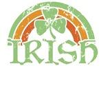 Vintage Irish Rainbow St. Patrick's T-Shirts