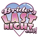 Bride's Last Night Out Bachelorette Party Tees