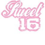 Vintage Pink Sweet 16