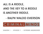 ALL IS A RIDDLE...
