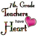 7th. Grade  Teachers  Have Heart