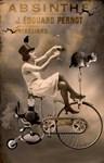Absinthe Cat and Bike