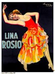 Lina Rosio Vintage Rare Dancer Print