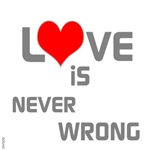 OYOOS Love is Never Wrong design