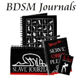 BDSM Themed Blank Journals