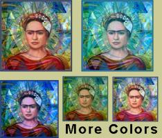 Cubist Frida