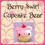 Amigurumi Berry Swirl Cupcake Bear Products