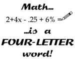 Math is...
