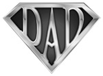 Super Dad-Chrome Tees,T-shirts & Gift Ideas