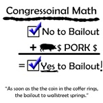 Congressional Math in the Bailout
