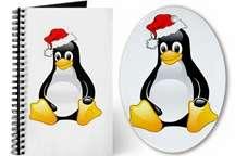Tux The Christmas Penguin
