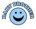 BABY BROTHER SHIRT ONSIE BIB CUTE BABY GIFT LITTLE
