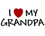 I LOVE MY GRANDPA SHIRT BABY CLOTHES ONSIE BIB