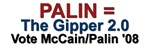 Palin = The Gipper 2.0