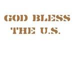 God Bless the U.S. - Asst. Colors