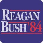 Vintage Reagan Bush '84 T-Shirt