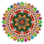 day of the dead mandala