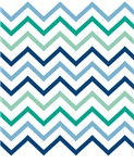 Blue Green Chevron