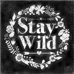 Stay Wild Chalkboard Art