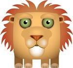 Lion Modern Icon