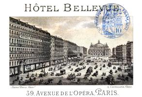 1877 Hotel Bellevue, Paris