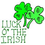 Luck of the Irish Clovers