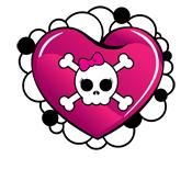 Over 30 Lady Austere Heart & Bones Shirts