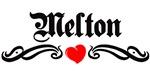 Melton tattoo