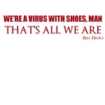 Virus with Shoes-Red