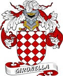 Gironella Coat of Arms, Family Crest