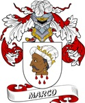 Marco Coat of Arms, Family Crest