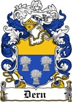 Dern Coat of Arms, Family Crest