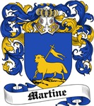 Martine Coat of Arms, Family Crest