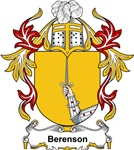 Berenson Coat of Arms, Family Crest