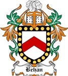 Behan Coat of Arms, Family Crest