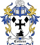 Colless Coat of Arms, Family Crest