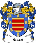 Barri Coat of Arms, Family Crest