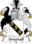 Greenall Family Crest