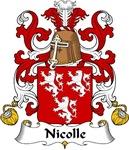 Nicolle Family Crest