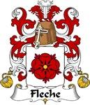 Fleche Family Crest