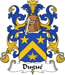 Dugue Family Crest