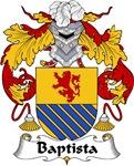 Baptista Family Crest