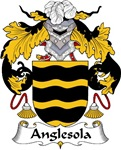 Anglesola Family Crest