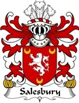 Salesbury Family Crest