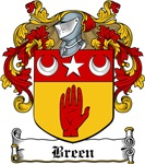 Breen Family Crests